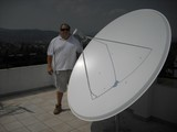 1.9 Famaval dish installed in Torrevieja Spain